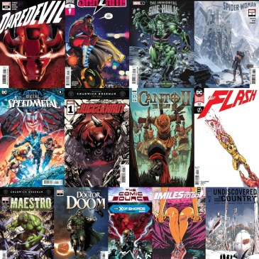 New Comic Wednesday September 23, 2020: The Comic Source Podcast