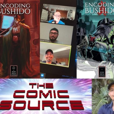 Kickstarter Wednesday – Encoding Bushido with Jesse Mesa Toves: The Comic Source Podcast