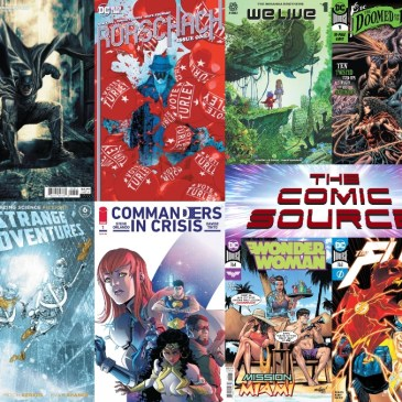 New Comic Wednesday October14, 2020: The Comic Source Podcast