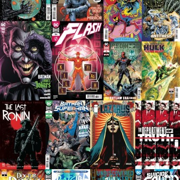 New Comic Wednesday October 28, 2020: The Comic Source Podcast