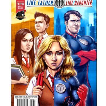 Like Father Like Daughter – Kickstarter Spotlight with Kat Calamia: The Comic Source Podcast
