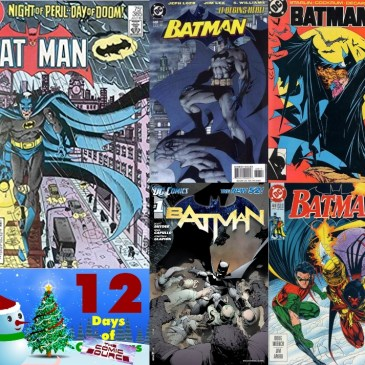 Five Favorite Covers – Batman | 12 Days of The Comic Source: The Comic Source Podcast