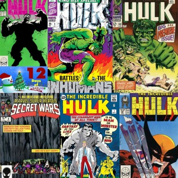 Five Favorite Covers – Hulk | 12 Days of The Comic Source: The Comic Source Podcast