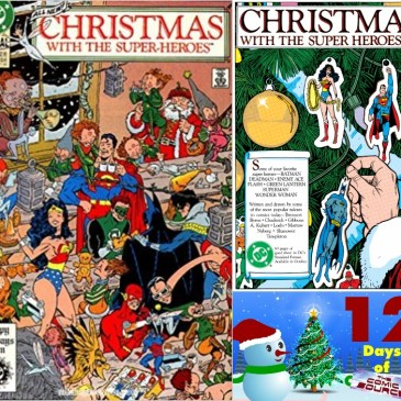 DC's Christmas with the Superheroes #2: 12 Days of The Comic Source: The Comic Source Podcast
