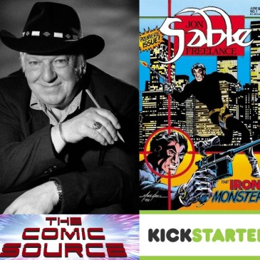 Jon Sable Kickstarter Spotlight with Mike Grell: The Comic Source Podcast