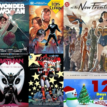 Five DC Books to Start With | 12 Days of The Comic Source: The Comic Source Podcast