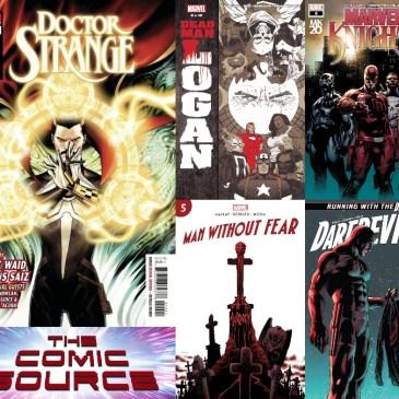 Doctor Strange #400, Marvel Knights 20 #6, Daredevil #20 & More! | Marvel Monday: The Comic Source Podcast