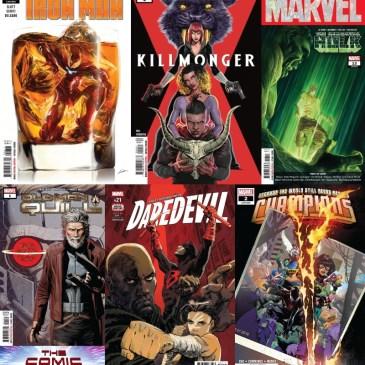 Tony Stark Iron Man #8, Immortal Hulk #13, Daredevil #12 & More | Marvel Monday: The Comic Source Podcast
