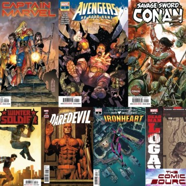 Captain Marvel #2, Ironheart #3, Winter Soldier #3, Daredevil #22 & More! | Marvel Monday: The Comic Source Podcast