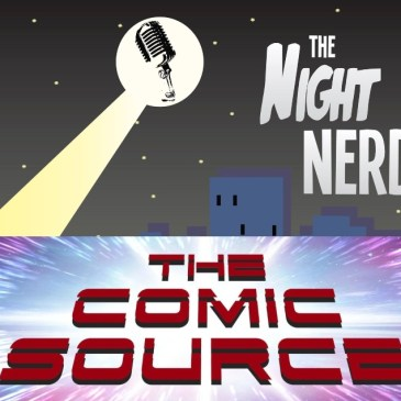 Comic Book Content Creator Conversation with The Night Nerd: The Comic Source Podcast