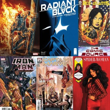 New Comic Wednesday March 17, 2021: The Comic Source Podcast