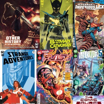 DC Spotlight March 30, 2021 Releases: The Comic Source Podcast