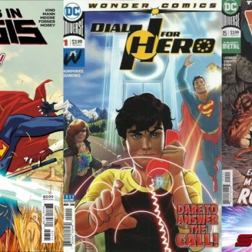 Damage #15, Heroes in Crisis #7 & Dial H for Hero #1 | Flashback Friday: The Comic Source Podcast