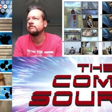 Tesselation Kickstarter Spotlight with Mike Phillips: The Comic Source Podcast
