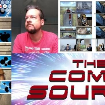 Tesselation Kickstarter Spotlight with Mike Phillips: The Comic Source Podcast