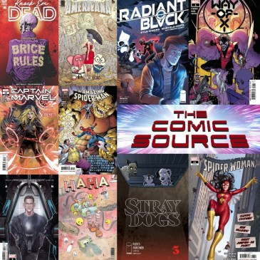New Comic Wednesday April 21, 2021: The Comic Source Podcast