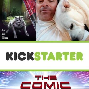 Alpha Dogs Kickstarter Spotlight with Jon Dexter: The Comic Source Podcast
