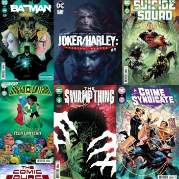 DC Spotlight April 6, 2021 Releases: The Comic Source Podcast
