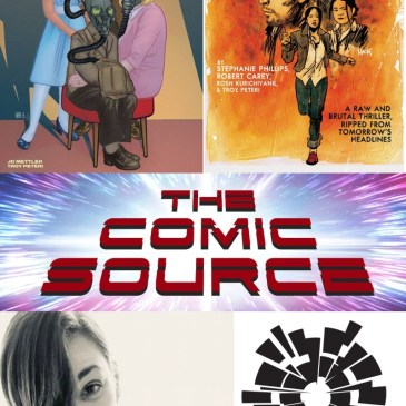 AfterShock Monday with Stephanie Phillips: The Comic Source Podcast