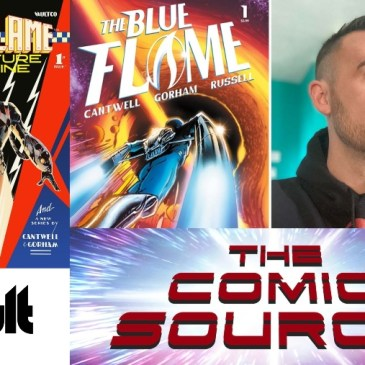Blue Flame Spotlight with Christopher Cantwell: The Comic Source Podcast