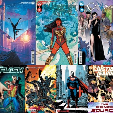 DC Spotlight May 18, 2021 Releases: The Comic Source Podcast