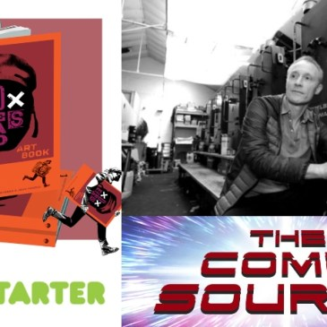 Dead Eyes Artbook Kickstarter Spotlight with John McCrea: The Comic Source Podcast