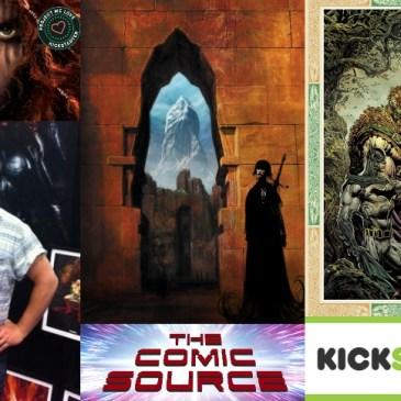 Encore Kickstarter Spotlight with Liam Sharp: The Comic Source Podcast