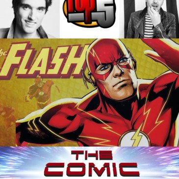 Top 5 Flash Artists with Sina Grace & V Ken Marion: The Comic Source Podcast