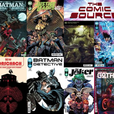 DC Spotlight June 8, 2021 Releases: The Comic Source Podcast