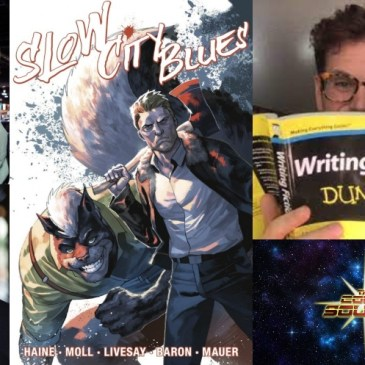 Slow City Blues Catch Up: The Comic Source Podcast