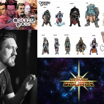 Ordinary Gods Spotlight with Kyle Higgins: The Comic Source Podcast