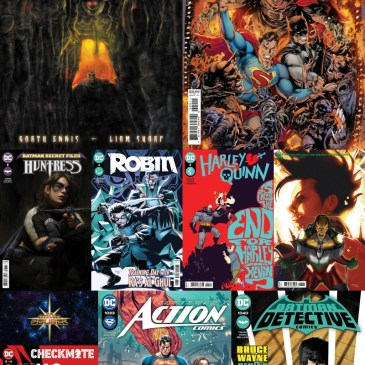 DC Spotlight July 27, 2021 Releases Part 1: The Comic Source Podcast