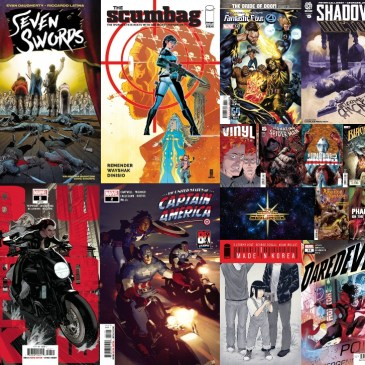 New Comic Wednesday July 28, 2021: The Comic Source Podcast