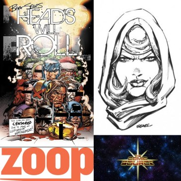 Head Will Roll Spotlight with Bart Sears: The Comic Source Podcast