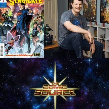 The Crime Syndicate Spotlight with Andy Schmidt: The Comic Source Podcast