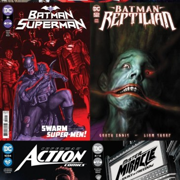DC Spotlight August 24, 2021 Releases Part 1: The Comic Source Podcast