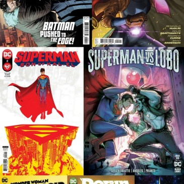 DC Spotlight August 24, 2021 Releases Part 2: The Comic Source Podcast