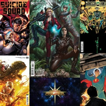 DC Spotlight August 3, 2021 Releases: The Comic Source Podcast