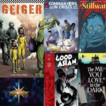 New Comic Wednesday August 4, 2021: The Comic Source Podcast