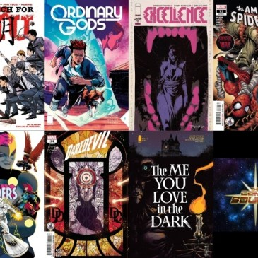 New Comic Wednesday September 8, 2021: The Comic Source Podcast