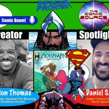 Future State: Aquaman Spotlight with Brandon Thomas and Daniel Sampere: The Comic Source Podcast