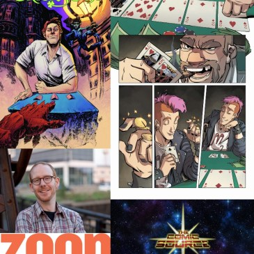 Trickster Creator Owned Spotlight with Conor McCreery: The Comic Source Podcast