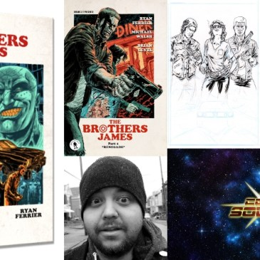The Brothers James Creator Owned Spotlight with Brian Level: The Comic Source Podcast