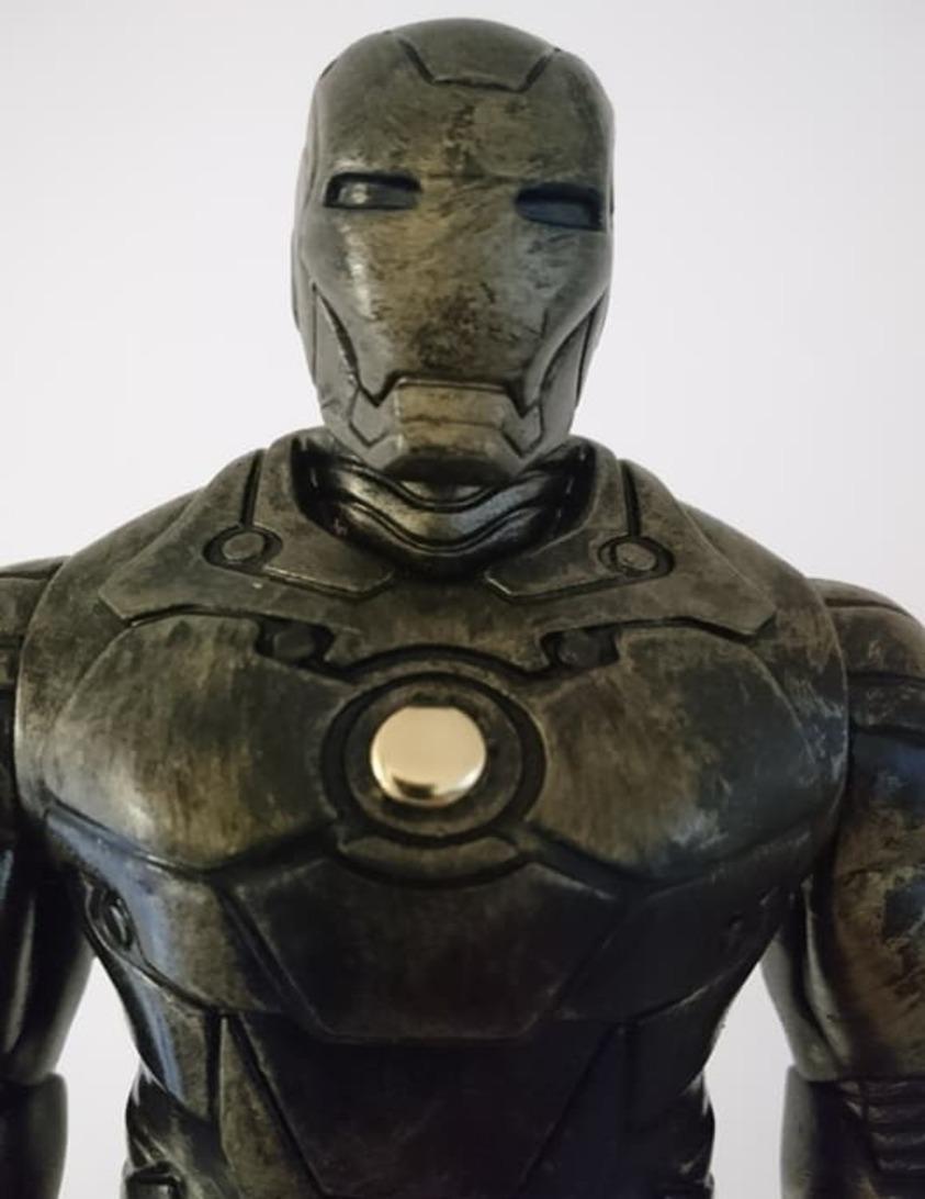 Steampunk Iron Man : steampunk, Steampunk, Statue, Review, Comic, Vault