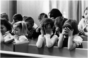 It is now a crime to pray at school which negates our children's inherent power.