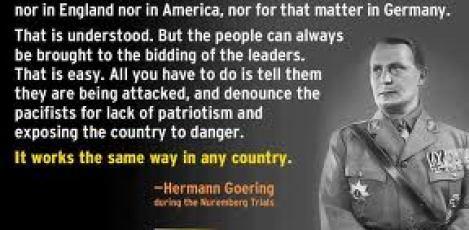false flag goering