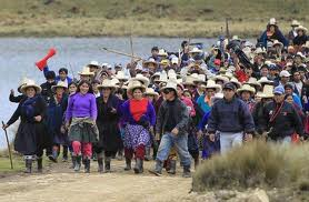 Massive protests were held in Peru over the privatization of its water supplies by the UN and its corporate minions.