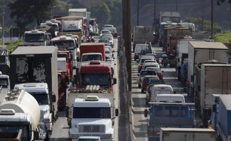 The truckers are threatening to block traffic on the Beltway and arrest Congressman for violating the Constitution.