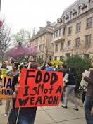 food is not a weapon