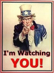 nsa im watching you
